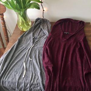 BRANDY MELVILLE oversized sweatshirt bundle